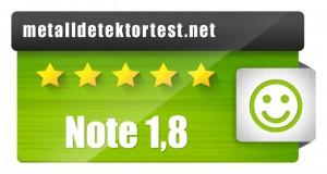 AGT Metalldetektor - Testergebnis